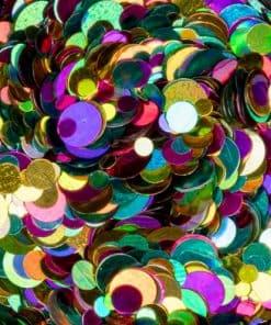 springle effect dotties van Mistero Milano metallic
