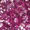 alu flakes van mistero milano nail art pink 5053