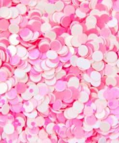 springle effect dotties van Mistero Milano 5039 roze