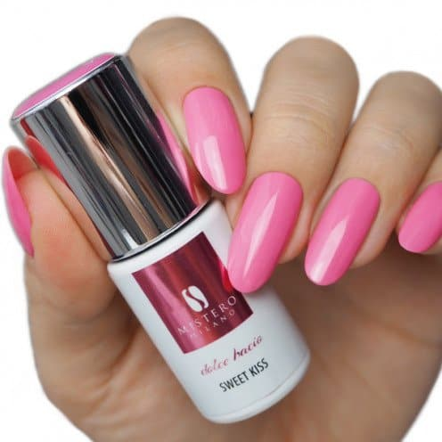 ultra vivid gelpolish collectie, sweet kiss, 1149, color gelpolish, mistero milano, fel roze, foto