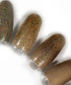 rainbow effect, nail art, mistero milano, nagels, decoratie, versiering, styling, dark gold, goud