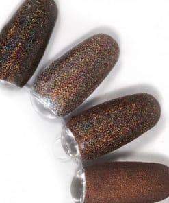 rainbow effect, nail art, mistero milano, nagels, decoratie, versiering, styling, brown, bruin