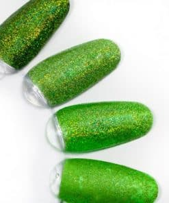rainbow effect, nail art, mistero milano, nagels, decoratie, versiering, styling, green