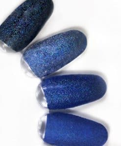 rainbow effect, nail art, mistero milano, nagels, decoratie, versiering, styling, blue, blauw