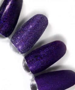 rainbow effect, nail art, mistero milano, nagels, decoratie, versiering, styling, purple, paars