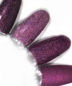 rainbow effect, nail art, mistero milano, nagels, decoratie, versiering, styling, bright purple, paars