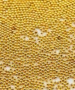 caviar balls, goud, 0,6mm, mistero milano, nail art, goud, gold